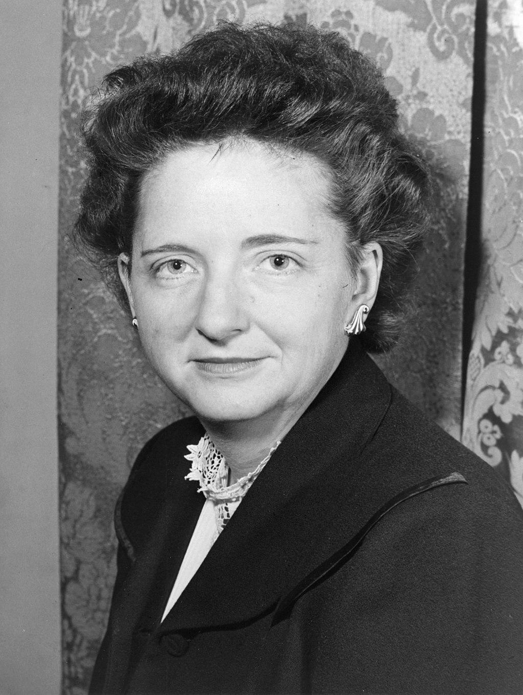 Elizabeth Bentley, American former spy for the Soviet Union.