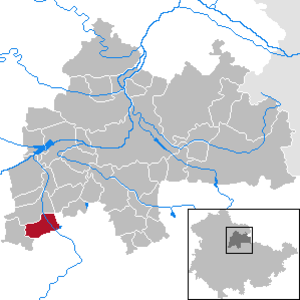 Elxleben - Image: Elxleben in SÖM