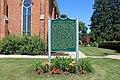 Emanuel German Evangelical Church historical marker, 324 West Main Street, Manchester, Michigan - panoramio.jpg