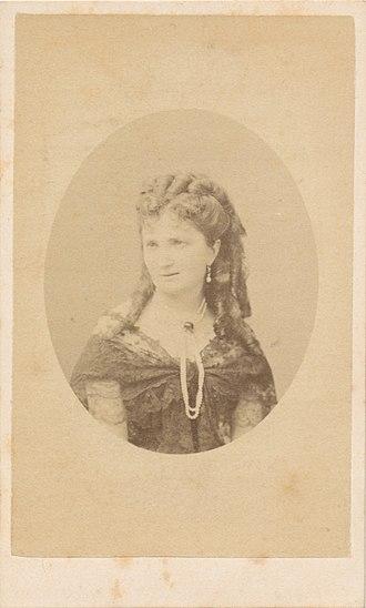 Feliks Sobański - Emilia, wife of Feliks