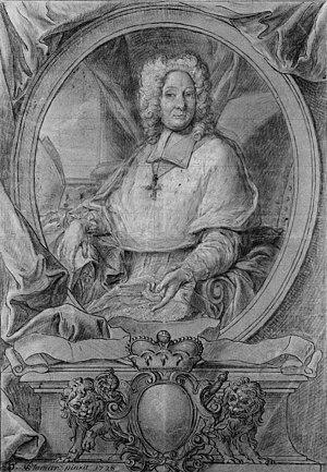 Georges-Louis de Berghes - Portrait of Georges-Louis de Berghes by Edmond Plumier