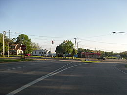 End of Route 11 in Ashtabula