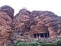 Engravings of Badami Caves, Karnataka 07.jpg