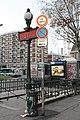 Entrée Métro Mairie St Ouen St Ouen Seine St Denis 4.jpg