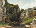 Entrée d'un gave (Source of a Mountain Stream).jpg
