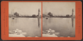 Entrance to Buffalo harbor, taken from the ice outside, by Pond, C. L. (Charles L.).png