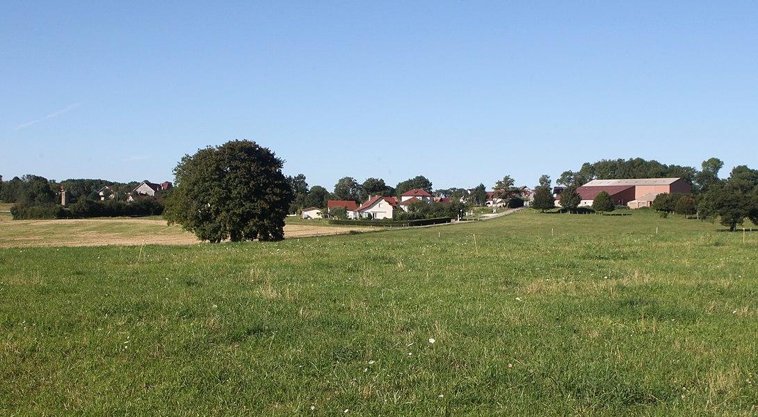 Vue d'Épenouse (Doubs).