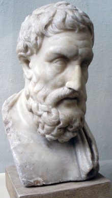 Where can I find the book or essay in which Epicurus wrote the following quote?