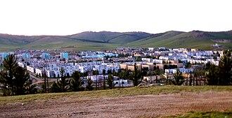 Erdenet - View of Erdenet