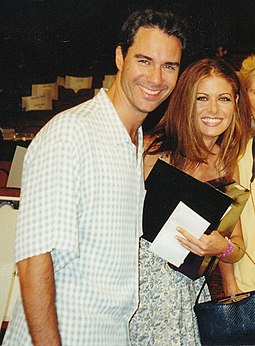 Eric McCormack and Debra Messing in 1999 Eric McCormack, Debra Messing.jpg