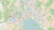 Erikslund Shopping Center location map - 01.png
