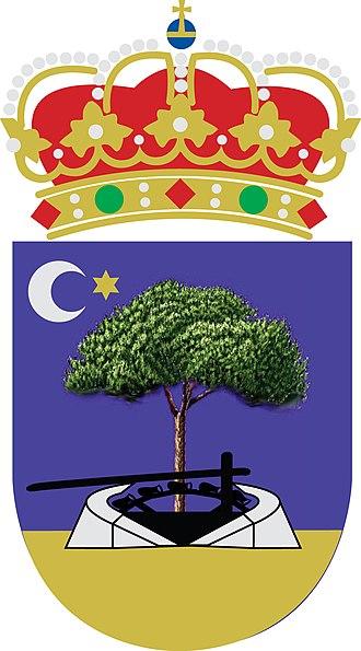 Arenales de San Gregorio - Image: Escudo Arenales de S Gregorio