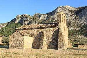 Fígols i Alinyà - Església de Sant Víctor de Fígols