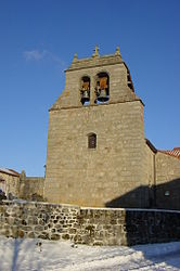 The bell tower in Esplantas