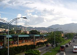 Metro-Station in Envigado