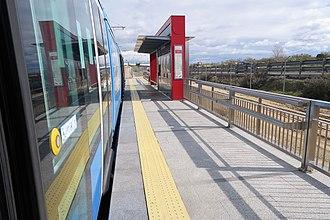 Retamares (Madrid Metro) - Image: Estación de Retamares