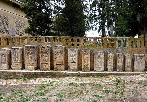 Estelas funerarias Timgad 05