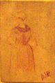 Estudi de dona - Darío de Regoyos Museu Abelló 696.png