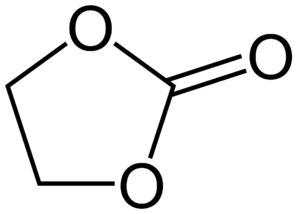 Carbonate ester - Image: Ethylene carbonate