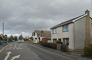 Euxton Human settlement in England
