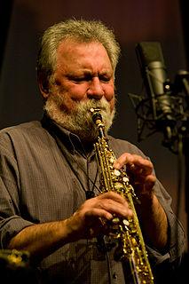 Evan Parker English saxophonist
