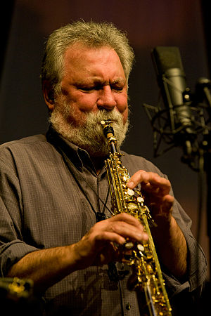 2012 in jazz - Evan Parker  at the Moers Festival 2012.