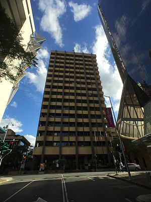 Government of Queensland - Executive Building in George Street, 2015