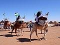 Exhibicion de camellos en la wilaya de Dajla (campamentos de refugiados saharauis de Tinduf, abril de 2007).jpg