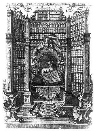Załuski Library - Załuski Library exlibris