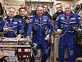 Expedition 39 crew greeting.jpg