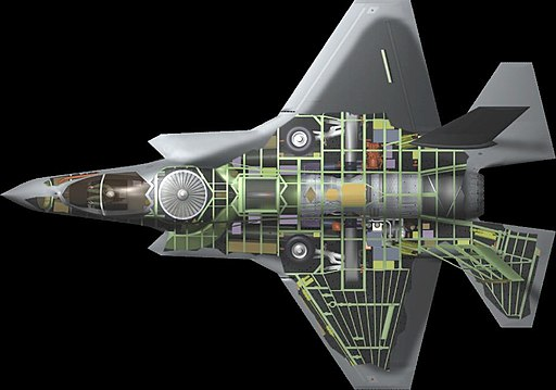 F-35B cutaway with LiftFan