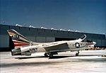 F-8E Crusader VF-194 CAG-bird at NAS Miramar 1966.jpg