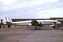 F-BHBI L1049G Super Constellation Air France LPL 12JUL66 (5936742876).jpg