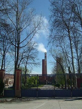 Miranda de Ebro - Paper mill in Miranda de Ebro