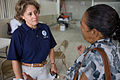 FEMA - 39171 - FEMA Representative speaks with a resident in Puerto Rico.jpg