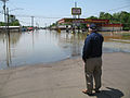 FEMA - 44002 - FEMA Administrator W. Craig Fugate at a flooded town in Tennessee.jpg