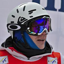 FIS Moguls World Cup 2015 Finals - Megève - 20150315 - Alexandr Smyshlyaev 2.jpg