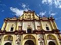 Facade of Cathedral - San Cristobal de las Casas - Chiapas - Mexico (15459783660).jpg