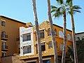 Facades with Palm Trees - Cabo San Lucas - Baja California Sur - Mexico (23526612405).jpg