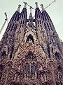 Fachada de nacimiento de la Sagrada Família, Barcelona.jpg