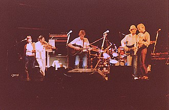 "Fairport Convention - Fairport Convention ""Nine"" line-up, reunited on stage at Cropredy 1982"