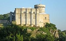 Photographie couleur du château de Falaise