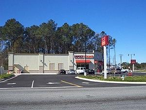 Family Dollar - Family Dollar store in Valdosta, Georgia