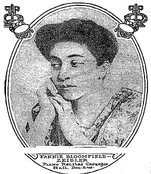 Fannie Bloomfield Zeisler - Portrait from The New York Times, November 26, 1911