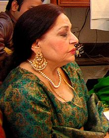 Farida Khanum rehearsing in December 2005