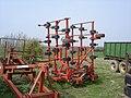 Farm implements near New Hook Farm - geograph.org.uk - 1238642.jpg