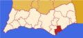Faro district map Portugal OLH.png