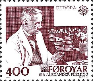 Faroe stamp 079 europe (fleming)