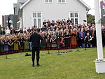 Faroese Politicians, Priests and Choir, Ólavsøka 2012.JPG