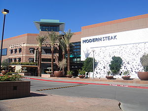 Scottsdale Fashion Square - One of the entrances to the Scottsdale Fashion Square Mall